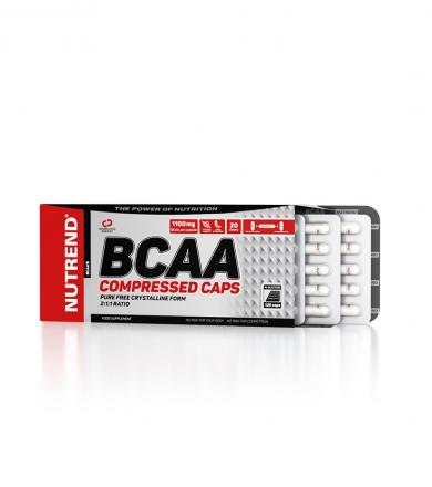 Nutrend BCAA Compressed - 120kaps.