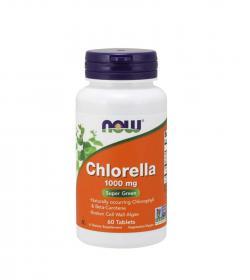 NOW Foods Chlorella 1000 mg - 60tabl.