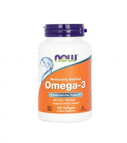 NOW Foods Omega 3 1000mg - 100kaps.