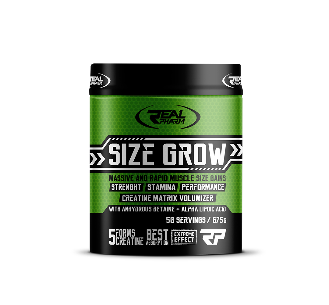 Real Pharm Size Grow - 675g