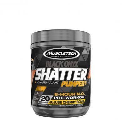 MuscleTech Shatter Pumped 8 Black Onyx - 155-166g