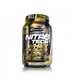 MuscleTech Nitro Tech Whey Isolate Gold - 1810g