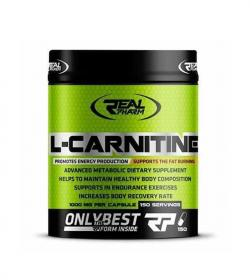 Real Pharm L-Carnitine 1000 mg - 150kaps.