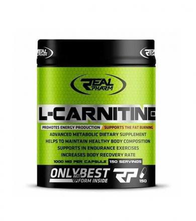 Real Pharm L-Carnitine 1000 mg - 150kaps.