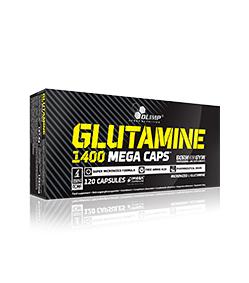 Olimp L-Glutamine 1400 Mega Caps - 120kaps.
