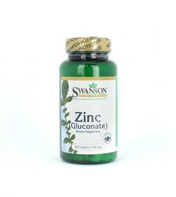 Swanson Zinc (Gluconate) - 250tabl.