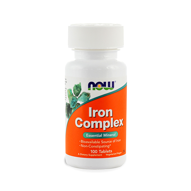 NOW Foods Iron Complex - 100tabl.