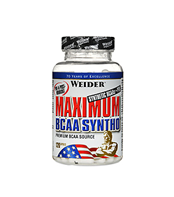 Weider Maximum BCAA Syntho - 240kaps.