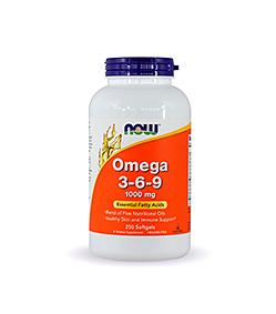 NOW Foods Omega 3-6-9 - 250kaps.