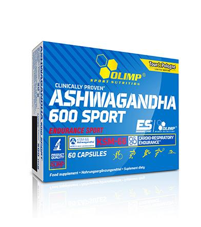Olimp Ashwagandha 600 Sport - 60kaps.