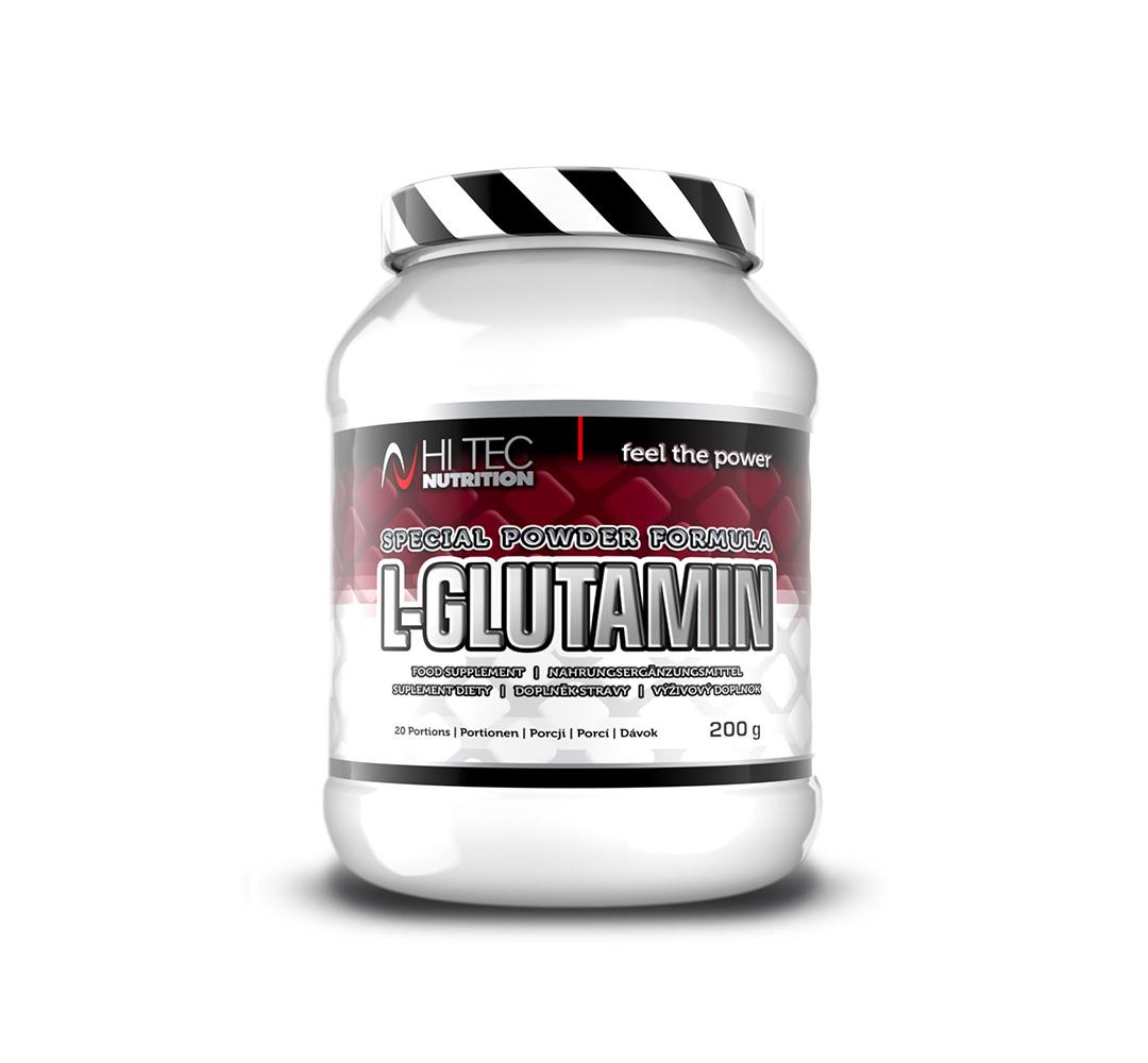 Hi Tec L-Glutamin - 200g
