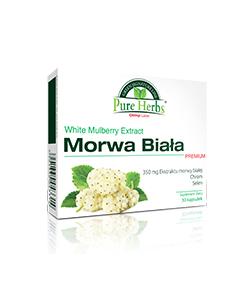 Olimp Morwa Biała Premium - 30kaps.