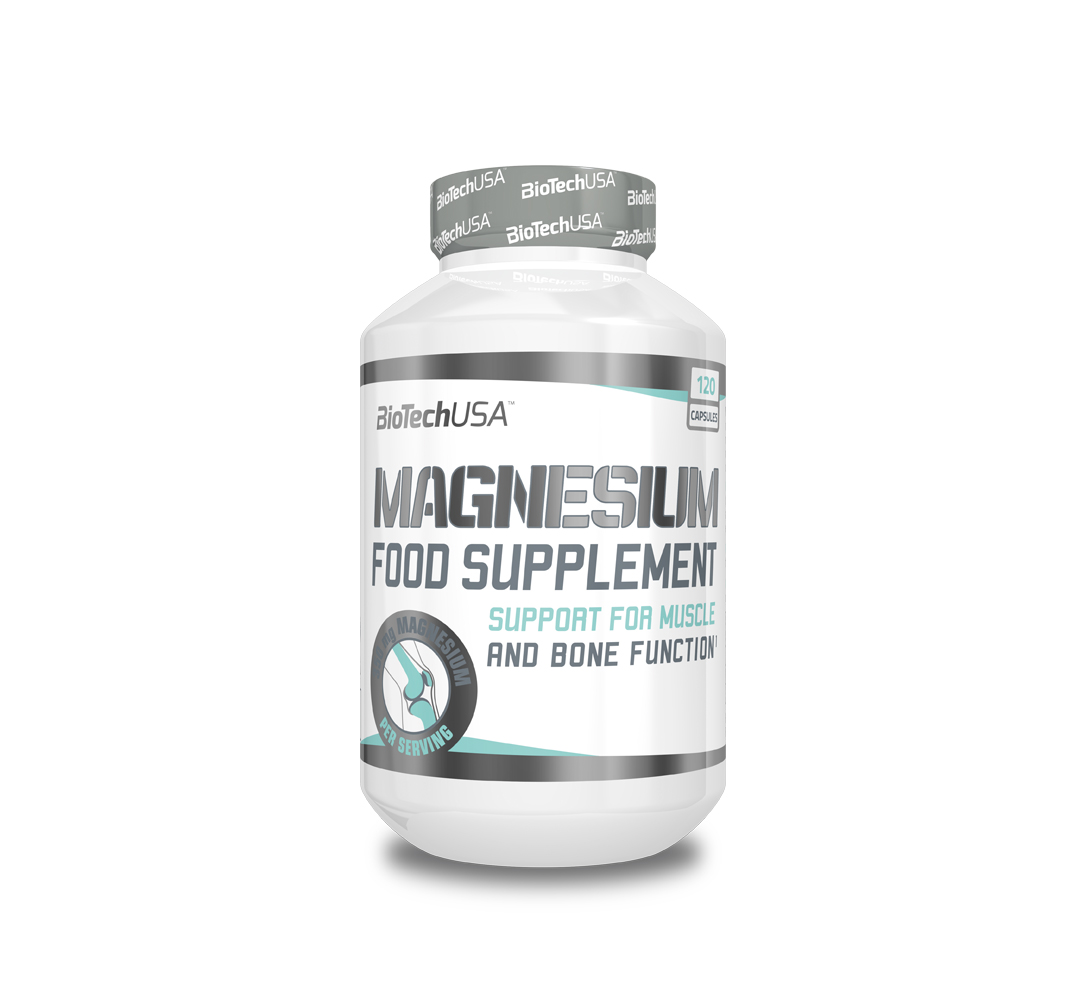 BioTech Magnesium - 120kaps.