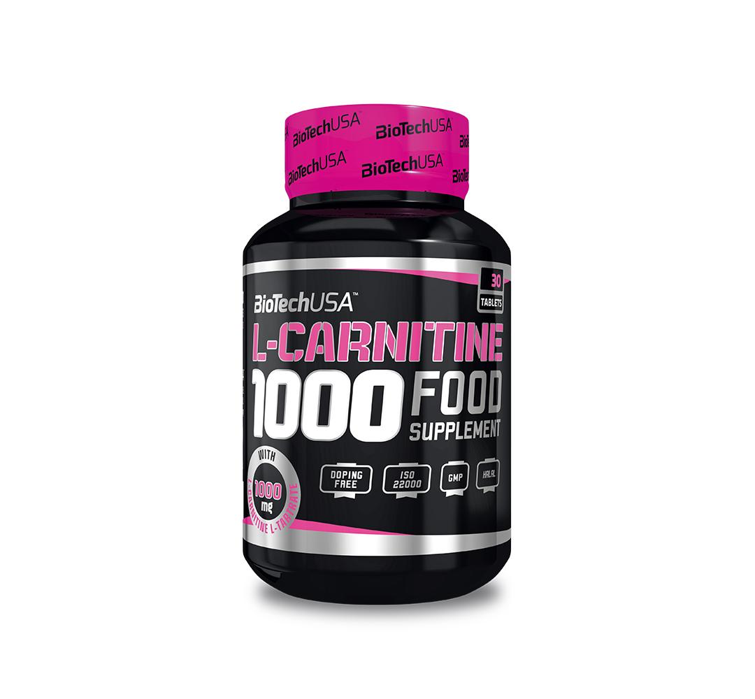 BioTech L-Carnitine 1000 - 60tabl.