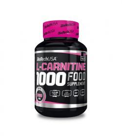 BioTech L-Carnitine 1000 - 30tabl.