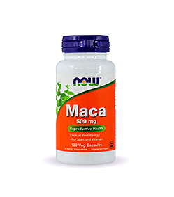 NOW Foods Maca 500mg - 100kaps.