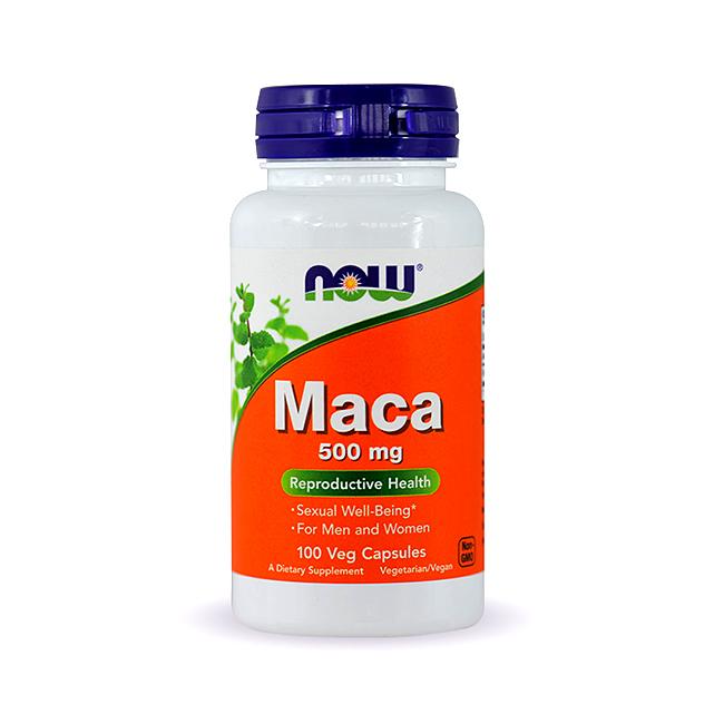 NOW Foods Maca 500mg - 100kaps.
