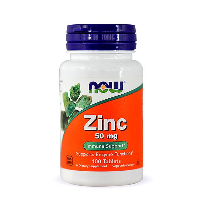 NOW Foods Zinc - 100tabl.