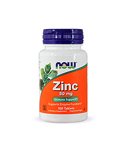 NOW Foods Zinc - 100tabl.