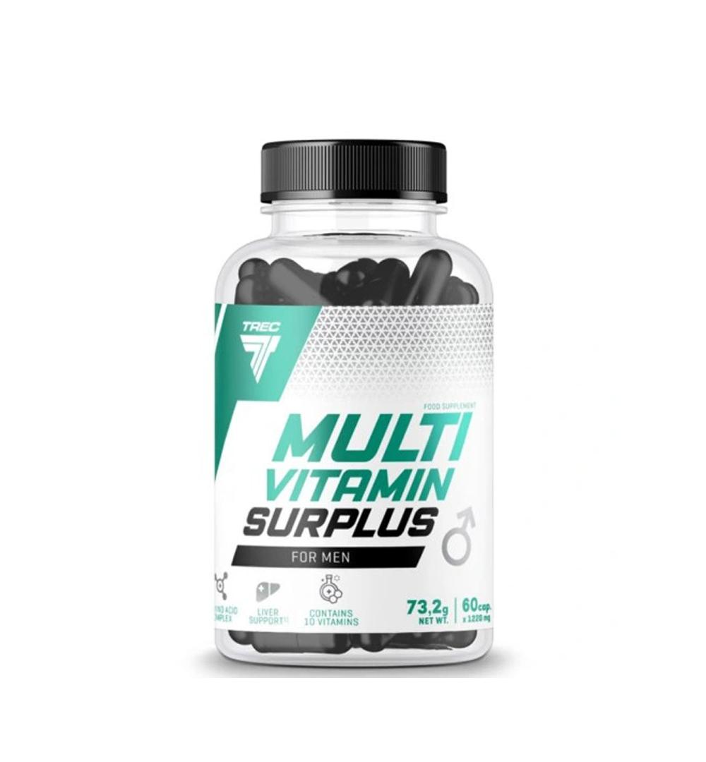 Trec Multivitamin Surplus for Men - 60kaps.