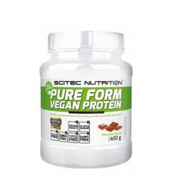 Scitec Pure Form Vegan Protein - 450g