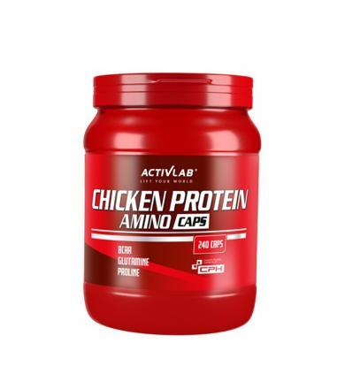 Activlab Chicken Protein Amino Caps - 240 kaps.