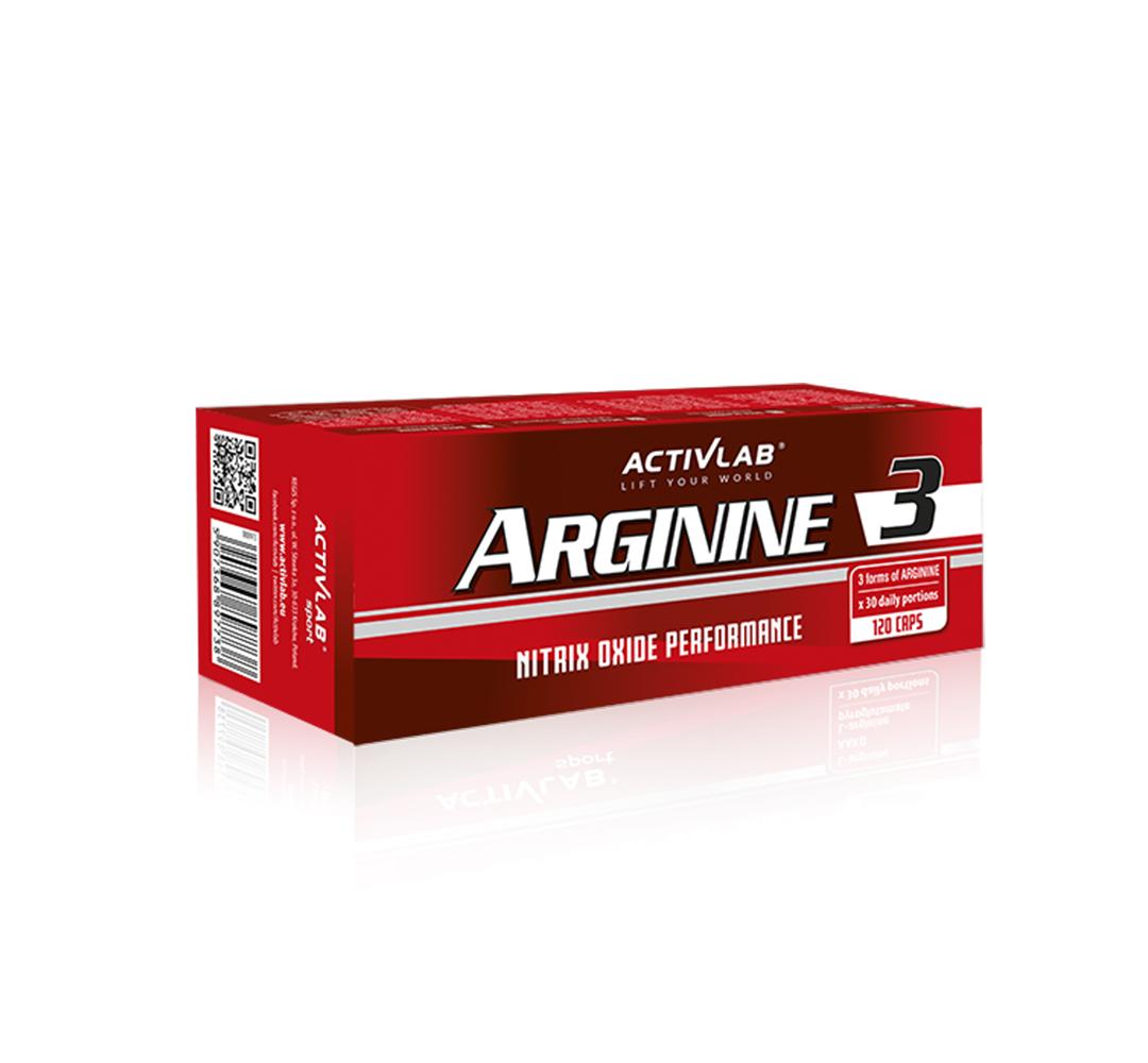 Activlab Arginine3 - 120kaps.