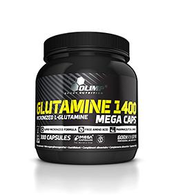 Olimp L-Glutamine 1400 Mega Caps - 300 kaps.
