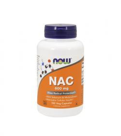 NOW Foods NAC (600 mg) - 250 kaps.