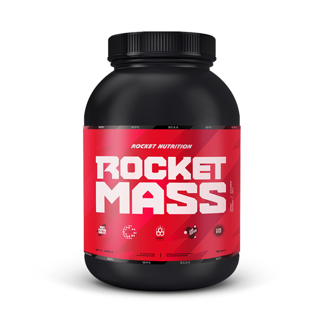 Rocket Nutrition Rocket Mass - 4000g