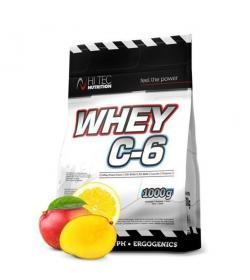 Hi Tec Whey C-6 - 1kg (worek)