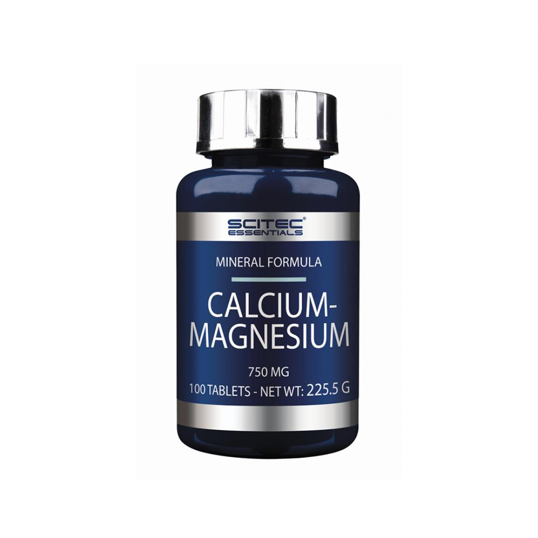 Scitec Essentials Calcium Magnesium - 100tabl.