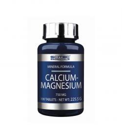 Scitec Essentials Calcium Magnesium - 100 tabl.