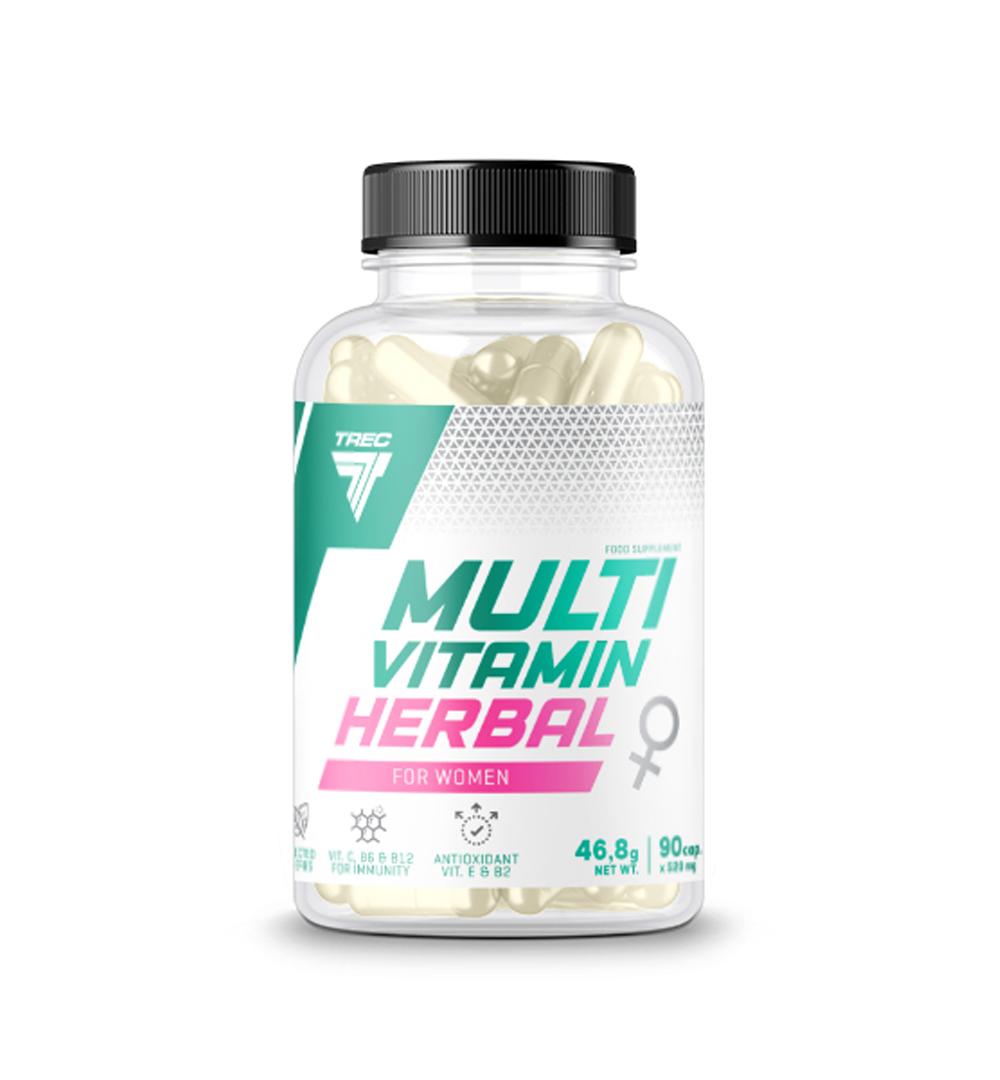 Trec Multivitamin Herbal for Women - 90kaps.
