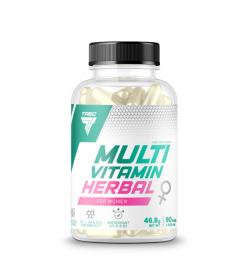 Trec Multivitamin Herbal for Women - 90kaps.