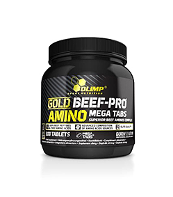 Olimp Gold Beef-Pro Amino Mega Tabs - 300 tabl.