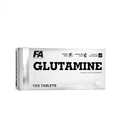FA Nutrition Glutamine 1250 - 120 tabl.