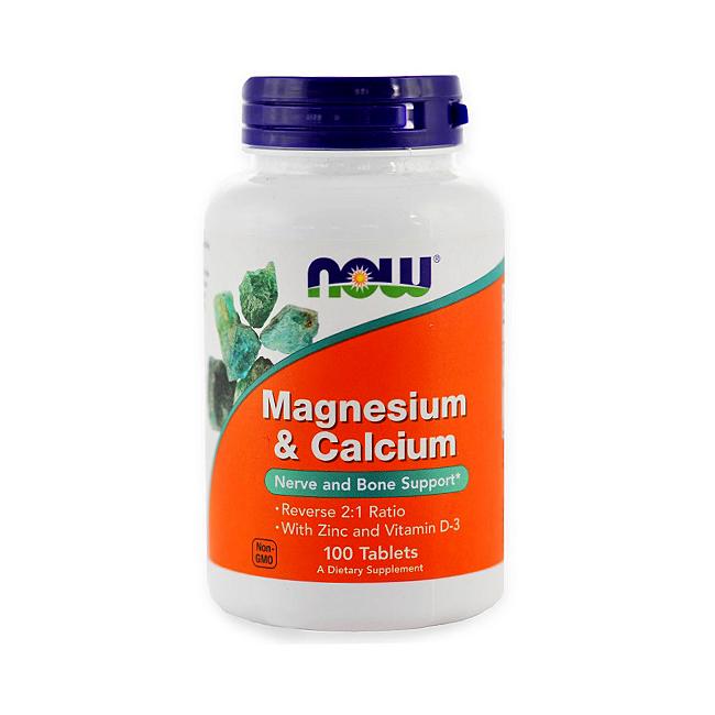 NOW Foods Calcium Magnesium - 100tabl.