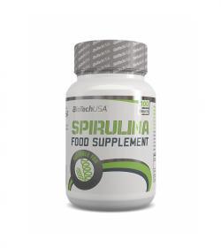 BioTech Spirulina - 100 tabl.