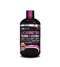 BioTech L-Carnitine 70000mg + chrome - 500ml