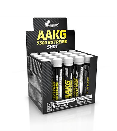 Olimp AAKG 7500 Extreme Shot - 20x25ml