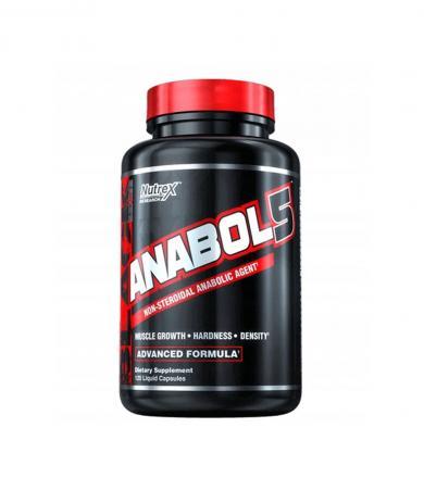 Nutrex Anabol-5 - 120kaps.