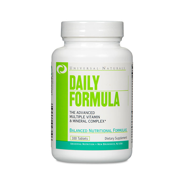 Universal Nutrition Daily Formula - 100tabl.