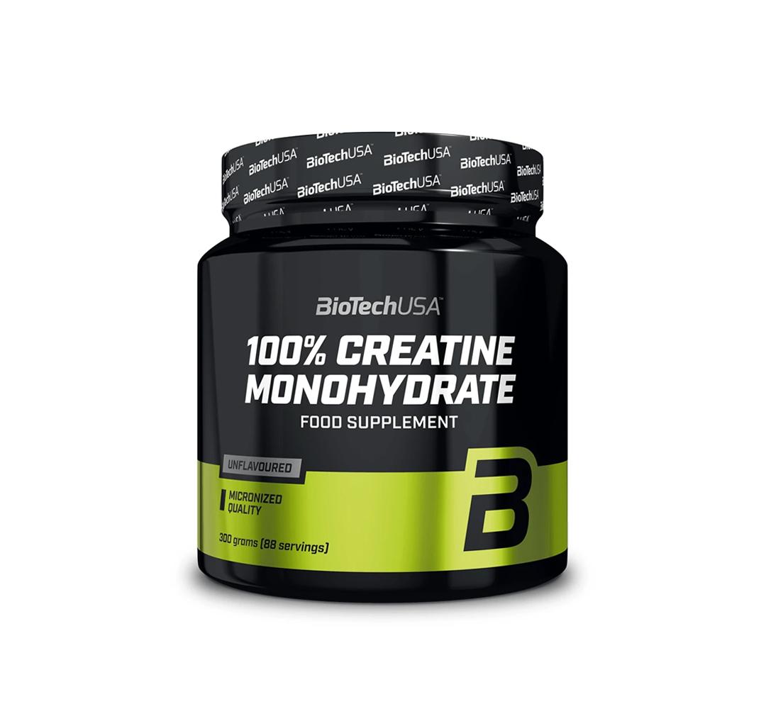 BioTech 100% Creatine Monohydrate - 300g
