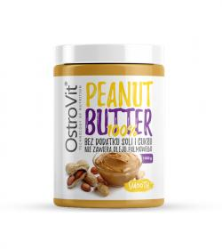 Ostrovit 100% Peanut Butter Smooth - 1000g