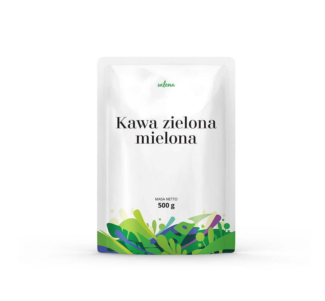 Kawa zielona mielona Salena - 500g