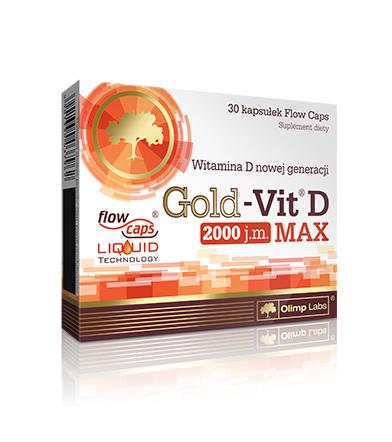 Olimp Gold Vit-D MAX - 30kaps.