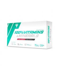 Trec 100% Vitamins & Minerals - 60kaps.