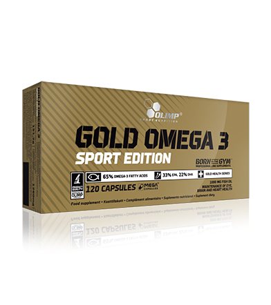 Olimp Gold Omega-3 Sport Edition - 120kaps.