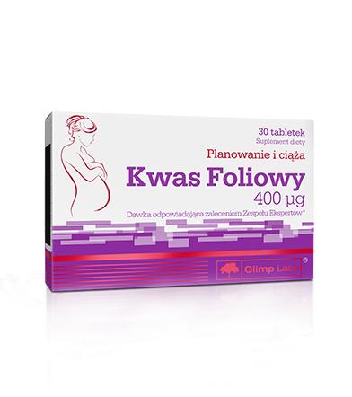 Olimp Kwas foliowy - 30tabl.
